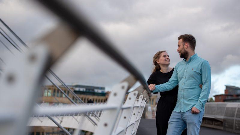 Baltic Centre for Contemporary Art - Pre-Wedding Shoot - Engagement - Jordan and Megan