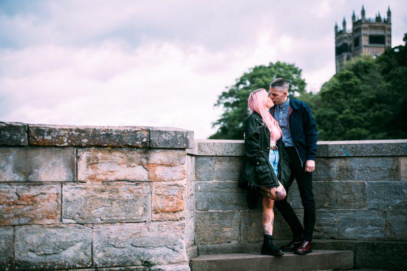Durham Pre-Wedding Shoot — Laurence Sweeney Photography - North East Wedding Photographer - River Wear