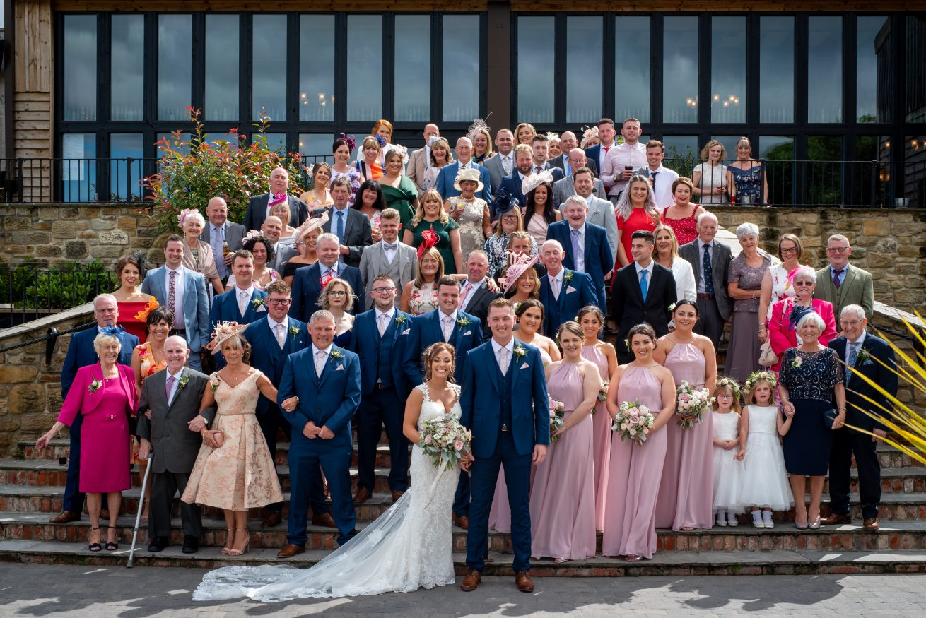Laurence Sweeney Photography - North East Wedding Photographer - Wedding Photos - Durham - South Causey