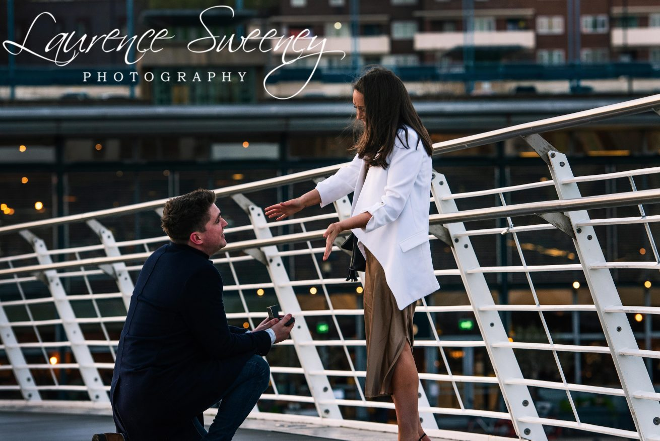 Jonny and Katy Proposal- Gateshead