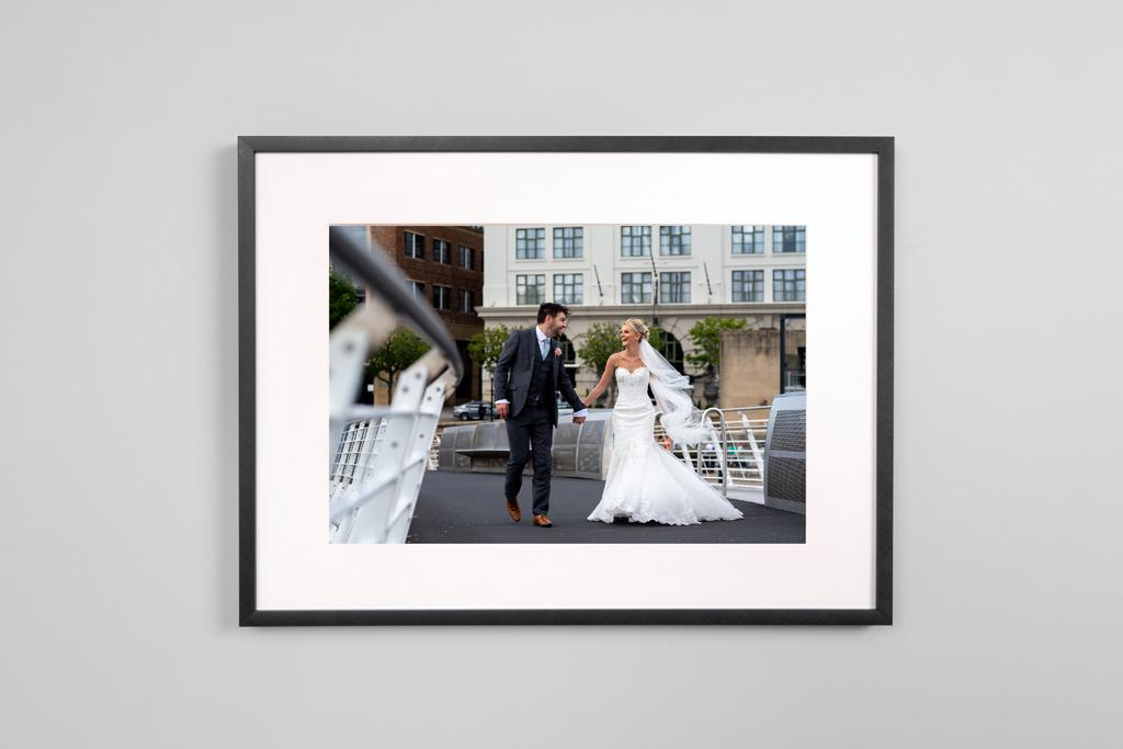 Laurence Sweeney Photography - Wedding Photographer - Newcastle upon Tyne - Modern Metal Frames