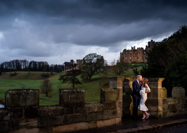 Laurence Sweeney Photography | Wedding Photos | Dramatic Wedding Photos| Alnwick